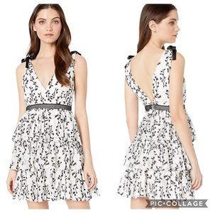 Bardot Black & White Jade Dress